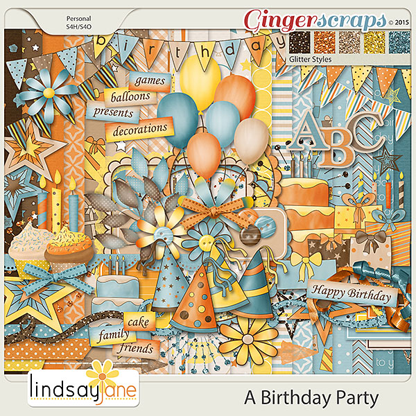 A Birthday Party by Lindsay Jane