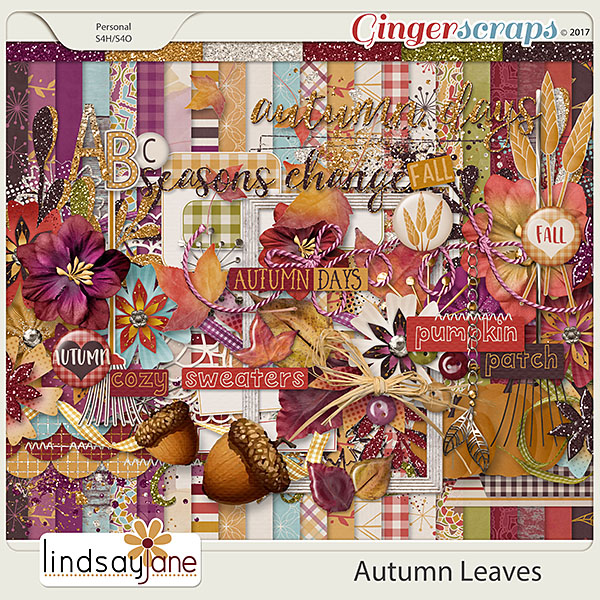 Autumn Leaves by Lindsay Jane
