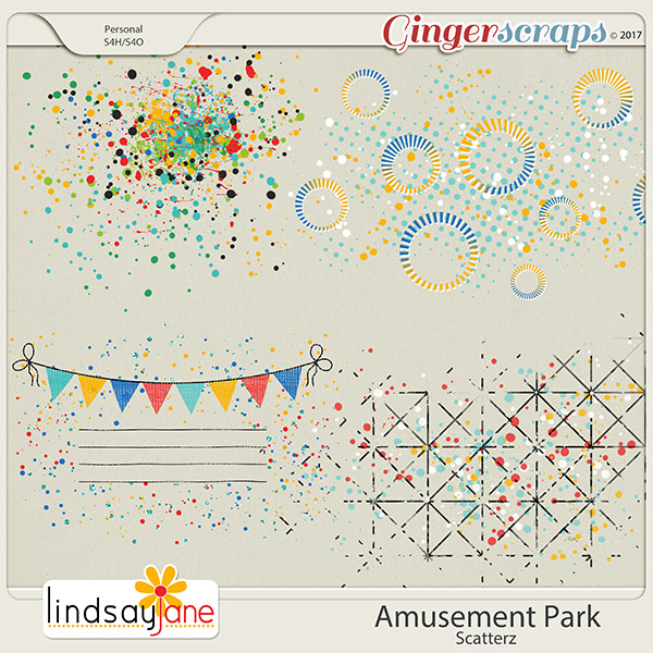 Amusement Park Scatterz by Lindsay Jane