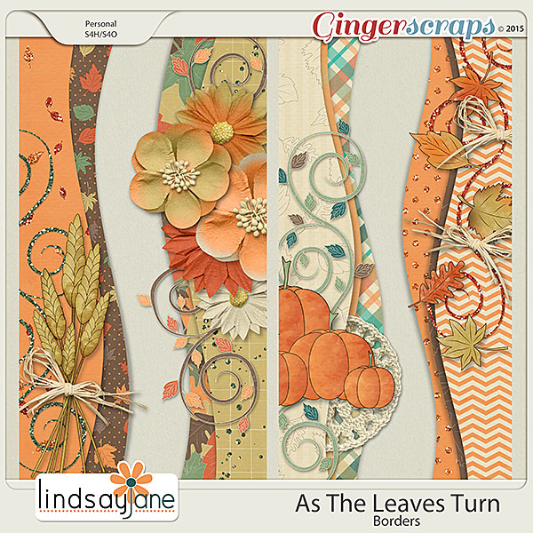 As The Leaves Turn Borders by Lindsay Jane