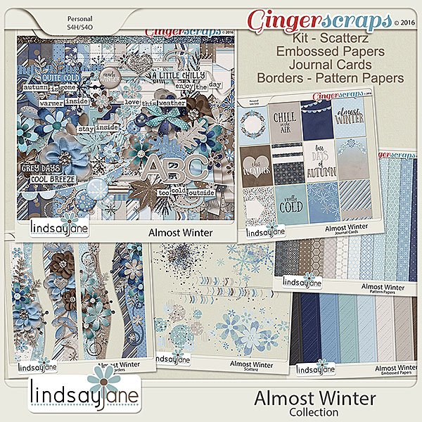 Almost Winter Collection by Lindsay Jane