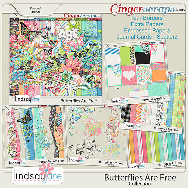 Butterflies Are Free Collection by Lindsay Jane
