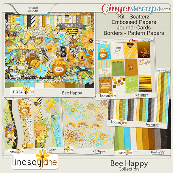 Bee Happy Collection by Lindsay Jane
