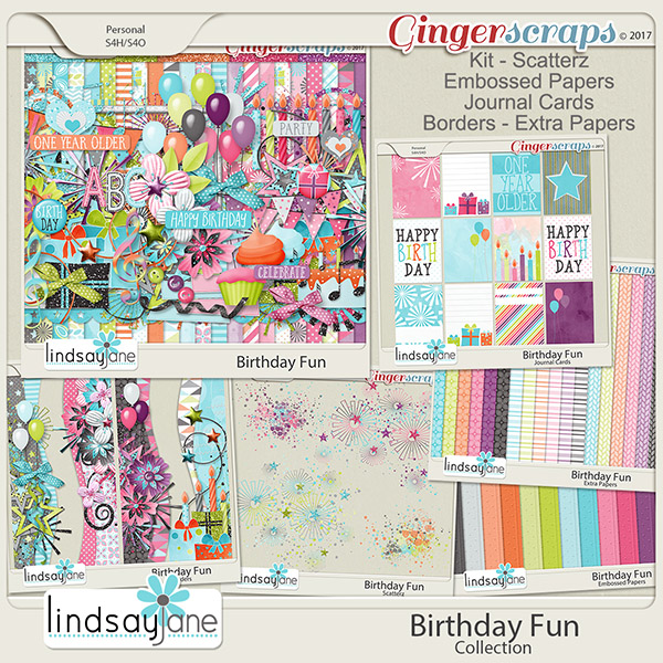 Birthday Fun Collection by Lindsay Jane