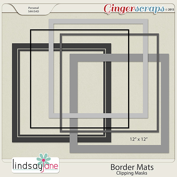 Border Mats by Lindsay Jane