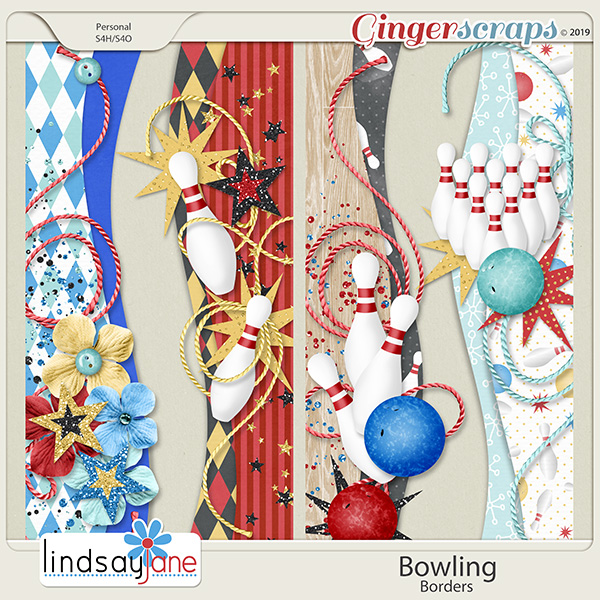 Bowling Borders by Lindsay Jane