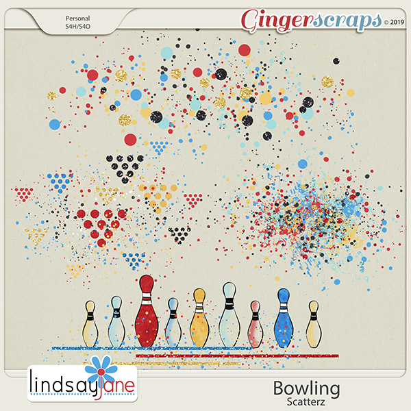 Bowling Scatterz by Lindsay Jane