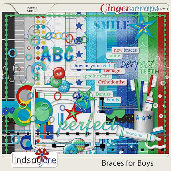 Braces for Boys by Lindsay Jane