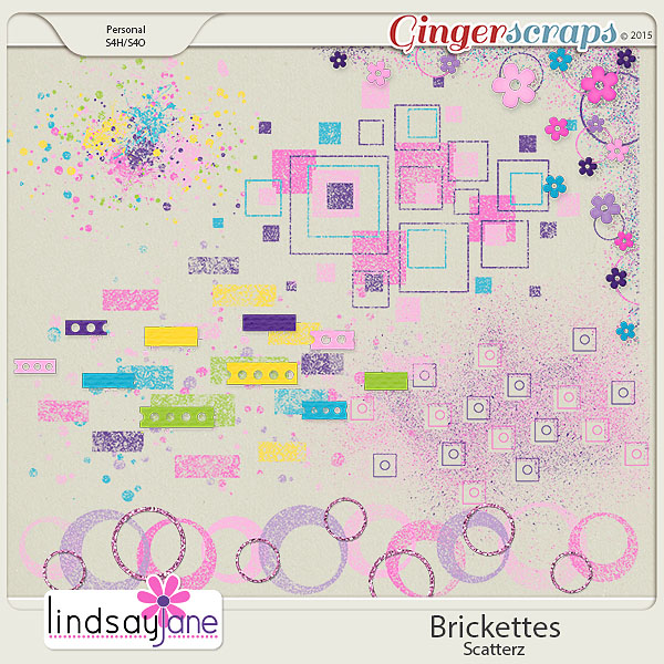 Brickettes Scatterz by Lindsay Jane