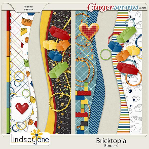 Bricktopia Borders by Lindsay Jane