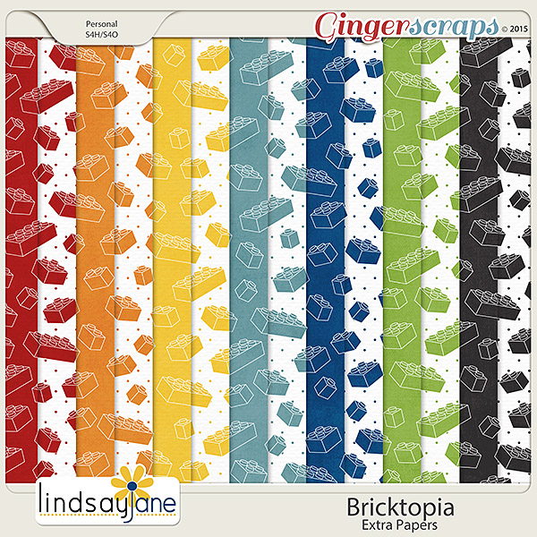 Bricktopia Extra Papers by Lindsay Jane
