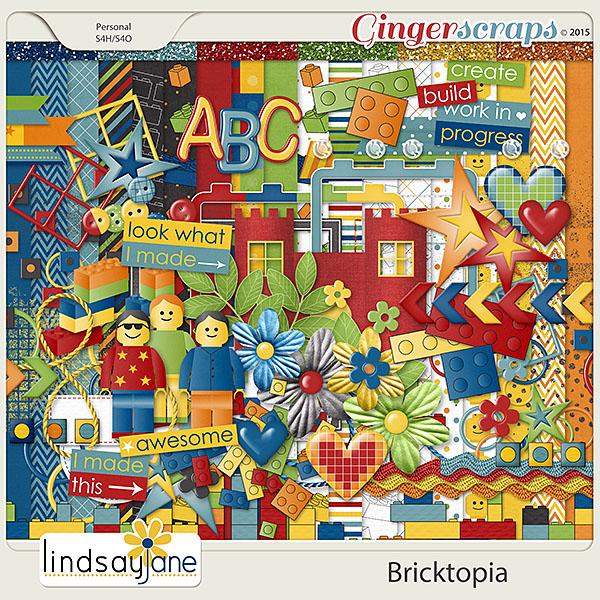 Bricktopia by Lindsay Jane