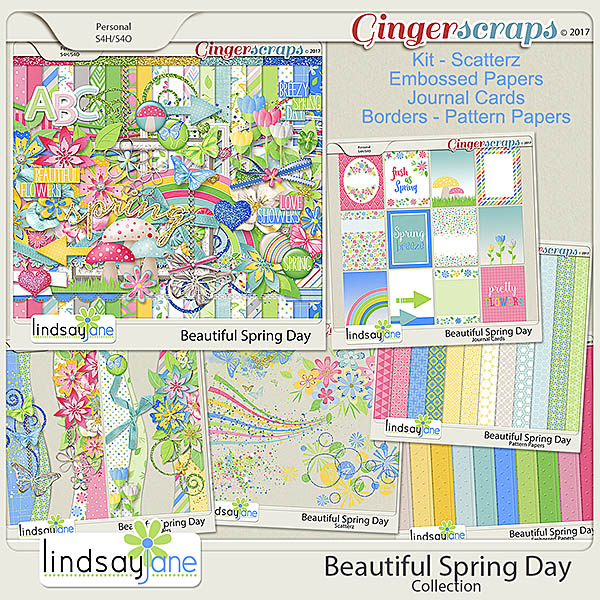 Beautiful Spring Day Collection by Lindsay Jane