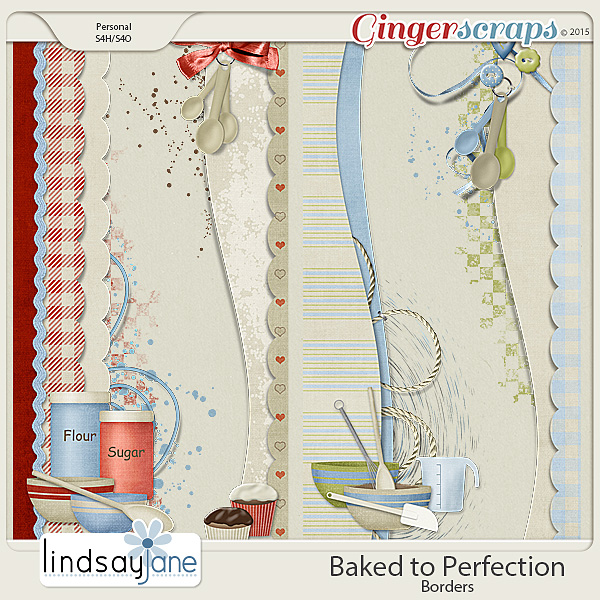 Baked to Perfection Borders by Lindsay Jane