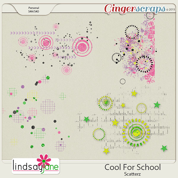 Cool For School Scatterz by Lindsay Jane