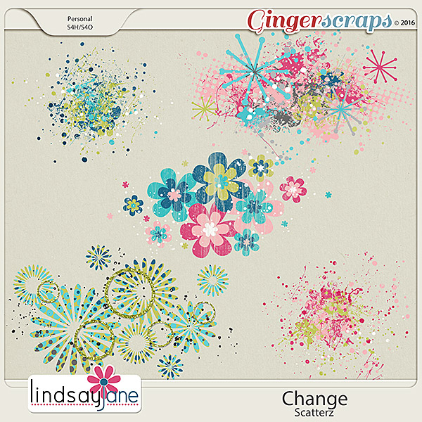Change Scatterz by Lindsay Jane