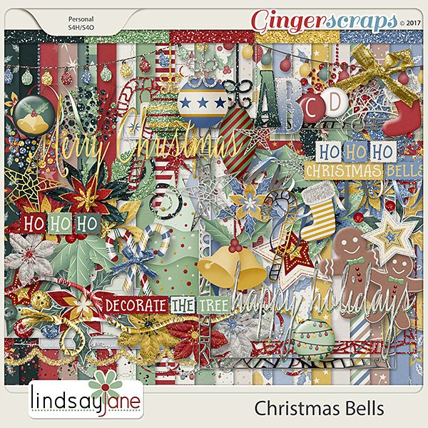 Christmas Bells by Lindsay Jane