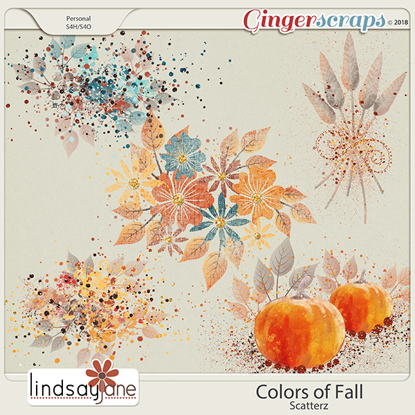 Colors of Fall Scatterz by Lindsay Jane