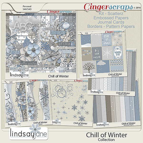 Chill of Winter Collection by Lindsay Jane