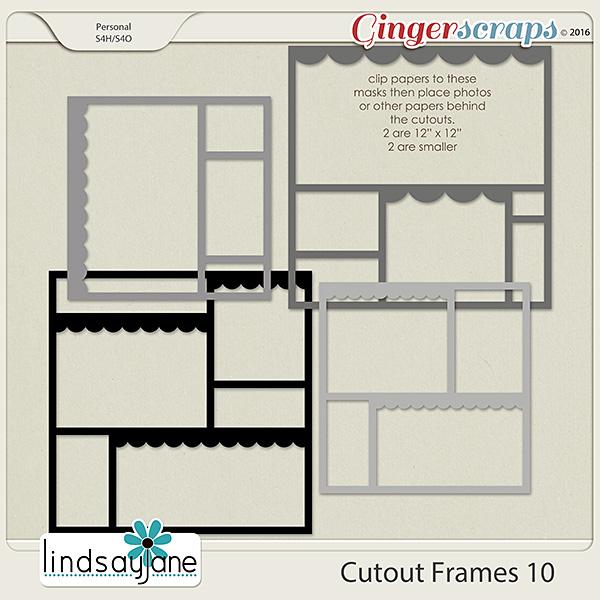 Cutout Frames 10 by Lindsay Jane