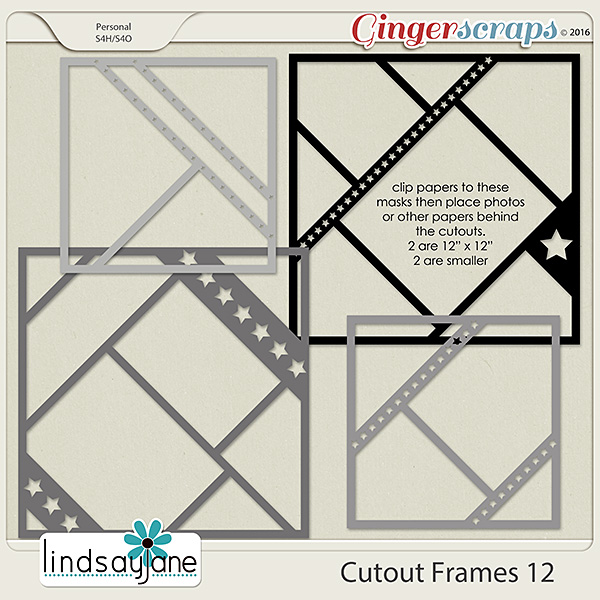 Cutout Frames 12 by Lindsay Jane