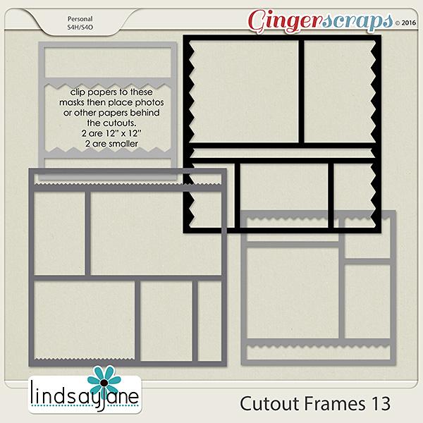 Cutout Frames 13 by Lindsay Jane