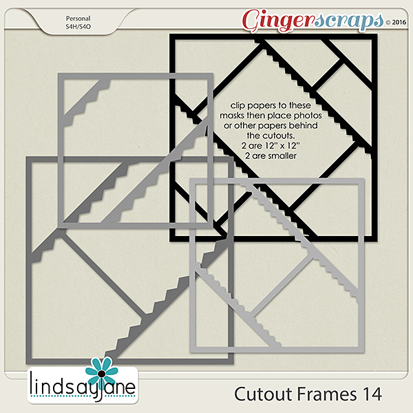 Cutout Frames 14 by Lindsay Jane
