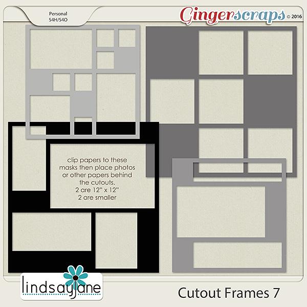 Cutout Frames 7 by Lindsay Jane