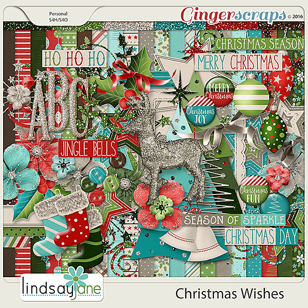 Christmas Wishes by Lindsay Jane
