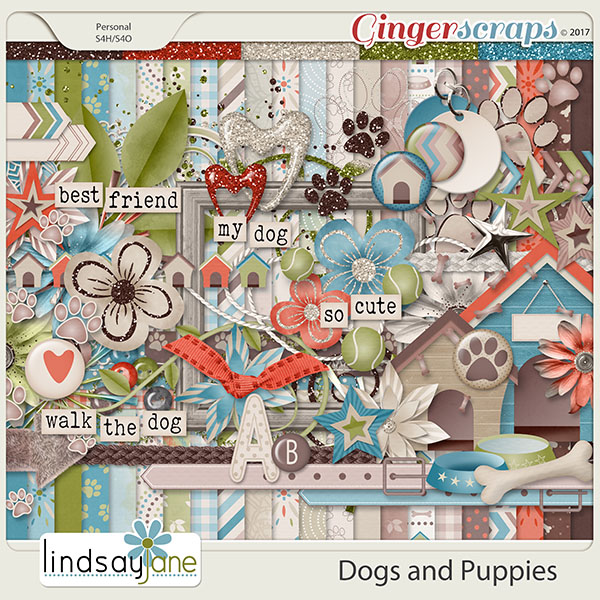 Dogs and Puppies by Lindsay Jane