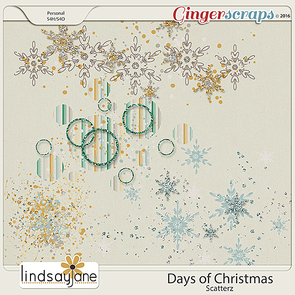 Days of Christmas Scatterz by Lindsay Jane