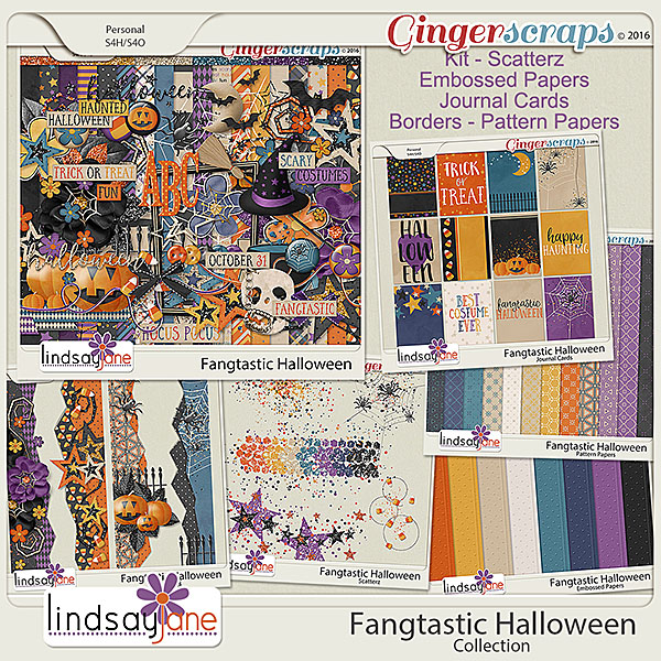 Fangtastic Halloween Collection by Lindsay Jane