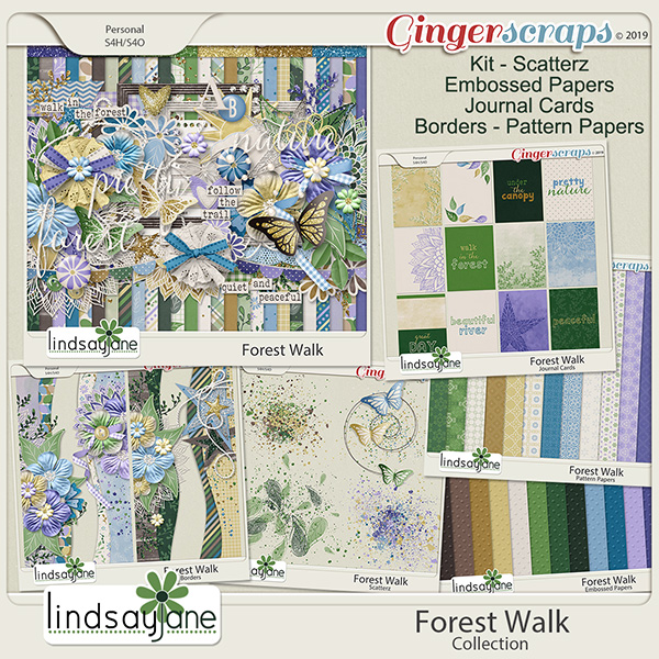 Forest Walk Collection by Lindsay Jane