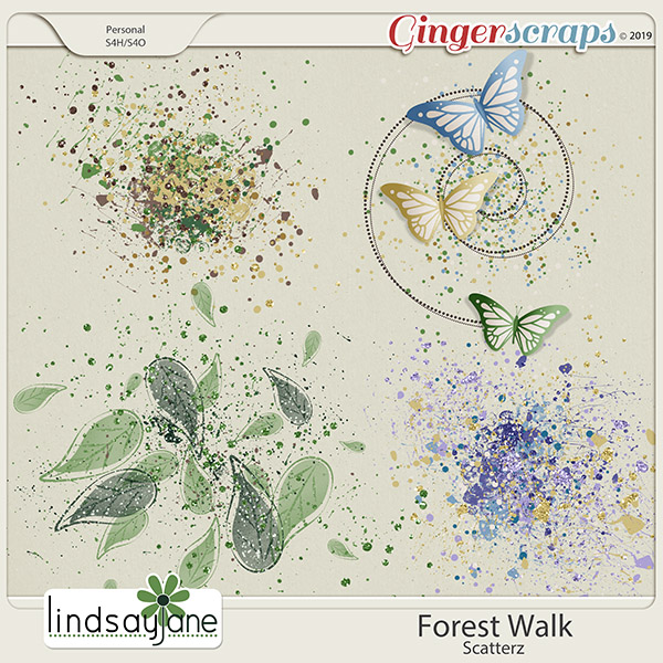 Forest Walk Scatterz by Lindsay Jane