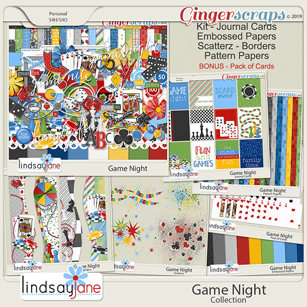 Game Night Collection by Lindsay Jane