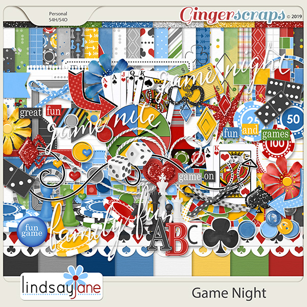 Game Night by Lindsay Jane
