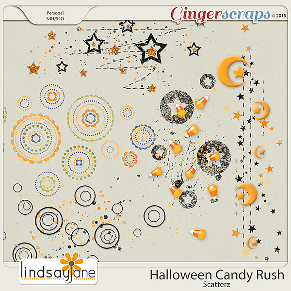 Halloween Candy Rush Scatterz by Lindsay Jane