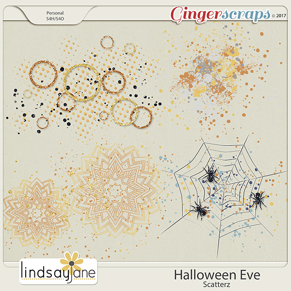 Halloween Eve Scatterz by Lindsay Jane