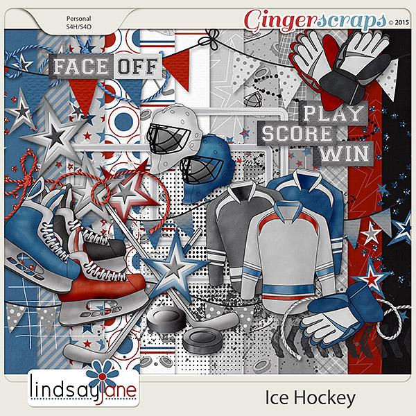 Ice Hockey by Lindsay Jane