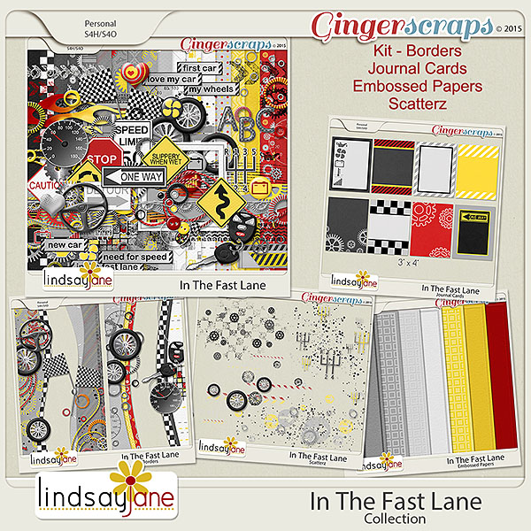 In The Fast Lane Collection by Lindsay Jane