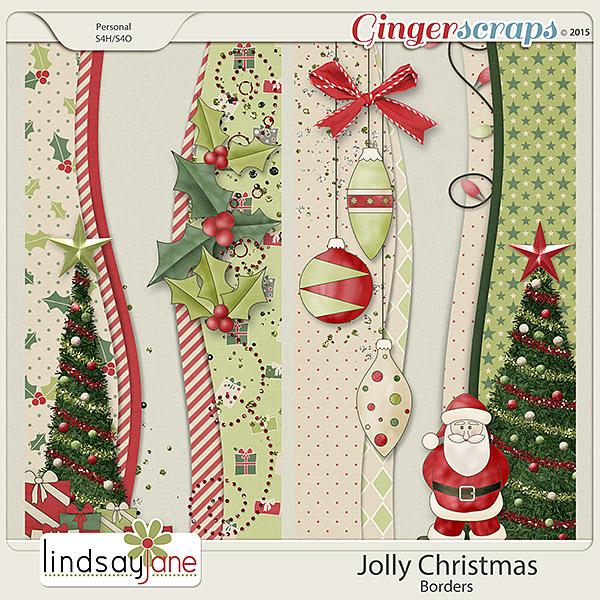 Jolly Christmas Borders by Lindsay Jane