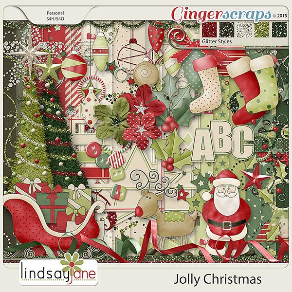 Jolly Christmas by Lindsay Jane