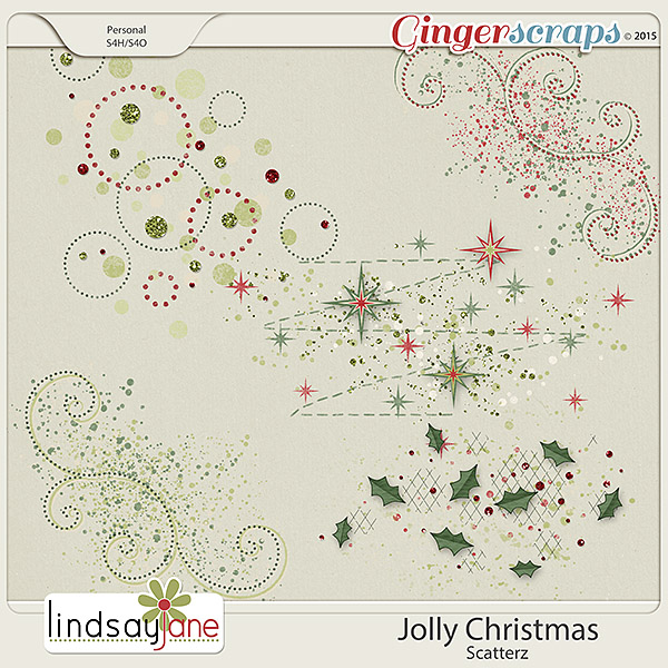 Jolly Christmas Scatterz by Lindsay Jane