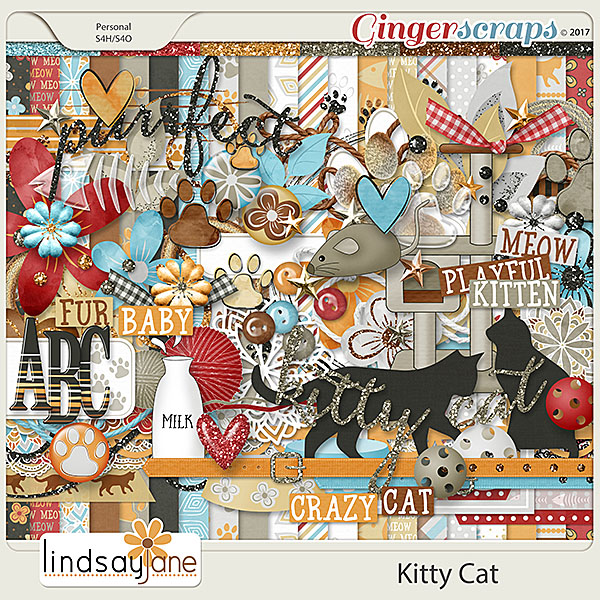 Kitty Cat by Lindsay Jane