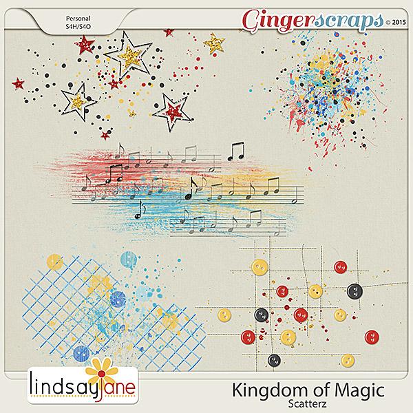 Kingdom of Magic Scatterz by Lindsay Jane