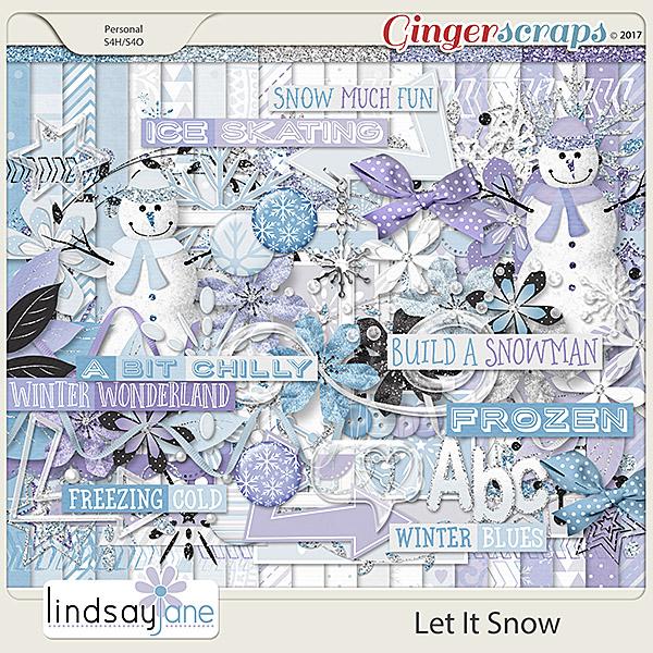 Let It Snow by Lindsay Jane