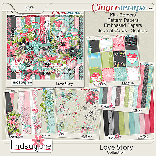 Love Story Collection by Lindsay Jane