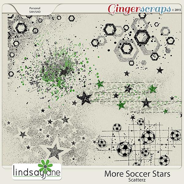 More Soccer Stars Scatterz by Lindsay Jane