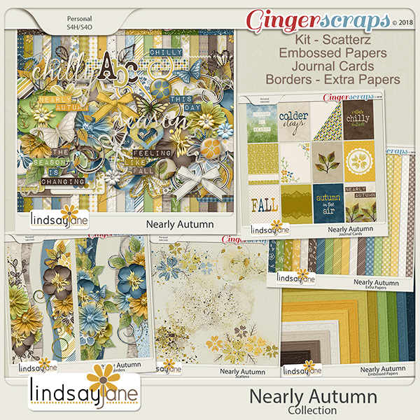 Nearly Autumn Collection by Lindsay Jane