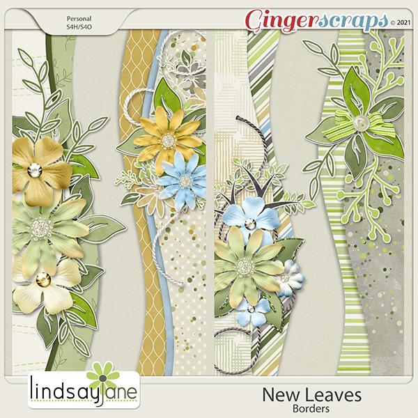 New Leaves Borders by Lindsay Jane